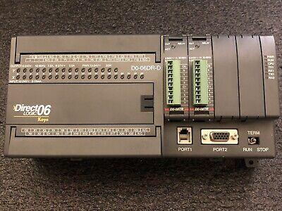 Direct Logic 06 Koyo D0-06dr-d New Dl06 Module D0-08tr Look Automation Japan