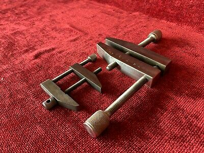 "Vintage Starrett 161-C Machinist Parallel Clamp + Additional 5"" Parallel -"