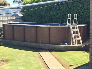 sterns above ground swimming pool Mount Gambier Grant Area Preview