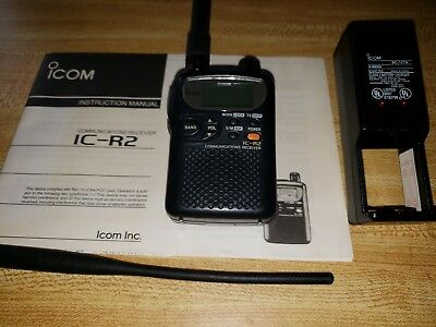 ICOM IC-R2 Wideband Communications Receiver AM FM Mode, VHF