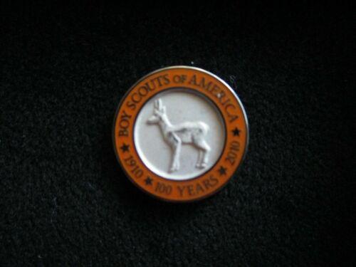 2010 BOY SCOUTS OF AMERICA SILVER ANTELOPE AWARD STERLING SILVER LAPEL PIN
