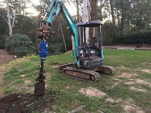 Excavator Tipper Bobcat Rock Breaker Auger Soil Removal Ryde Ryde Area Preview