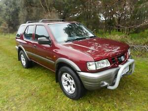 2002 Holden Frontera S Manual SUV 4X4 GAS AND PETROL REG /RWC! Moorabbin Kingston Area Preview