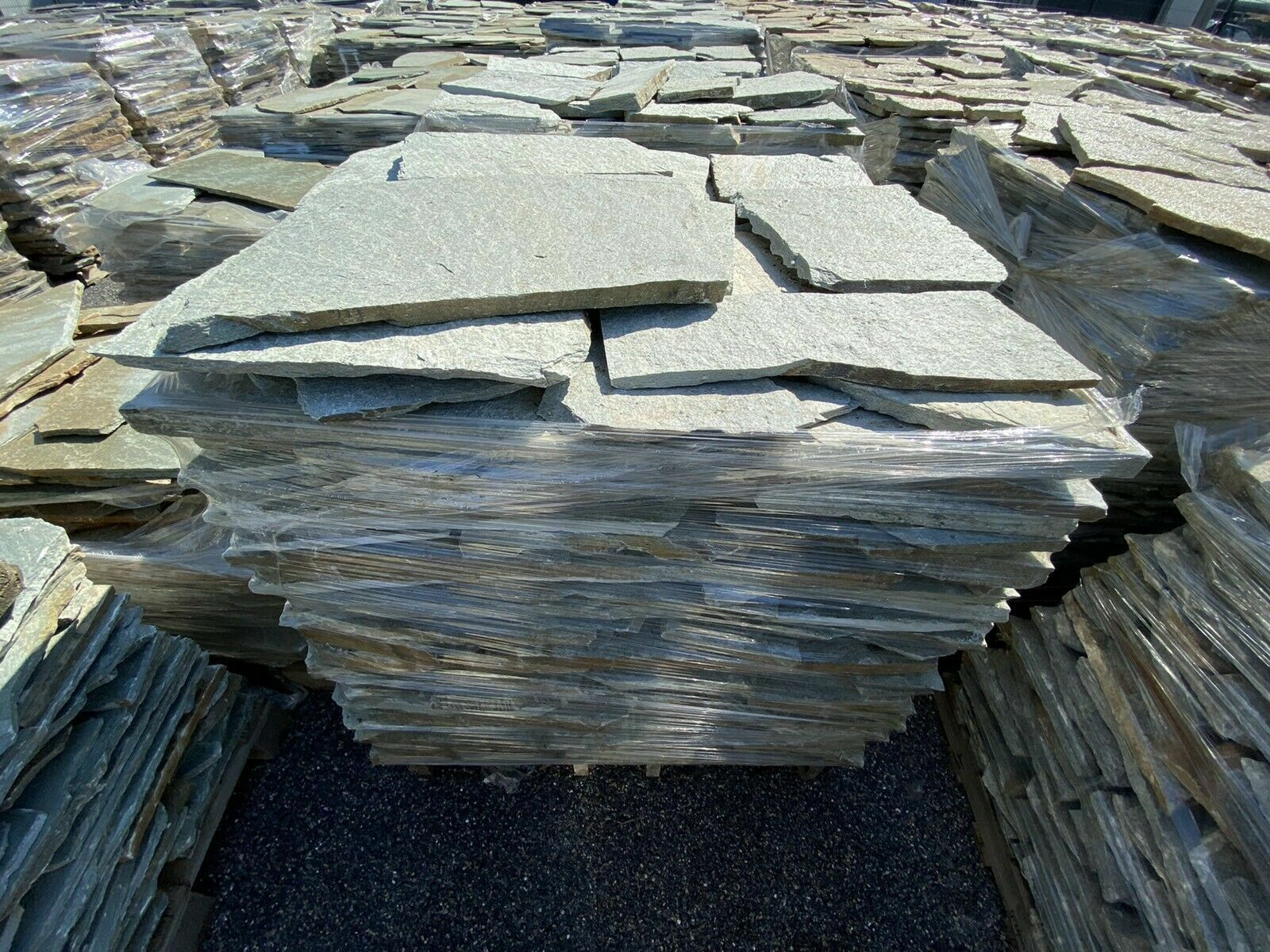 Quarzit Terrassenplatten Gehwegplatten Poolplatten Silber