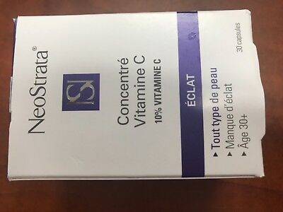 Neostrata Vitamin C (NEOSTRATA Vitamin C Concentrate Radiance 30 caps jar new stock $10 usa)