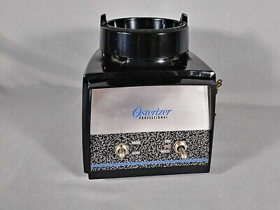Osterizer Professional Blender Base  1/2 Hp 2 Speed Works Well. (Blender 2hp)