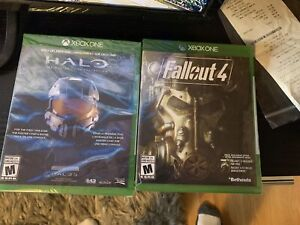 Halo Collection + Fallout 4. Xbox One games