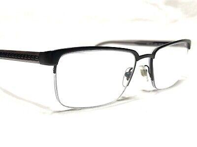 Versace MOD1241 1261 Men's Black & Gray Half Rim Rx Eyeglasses Frames 54/18~145