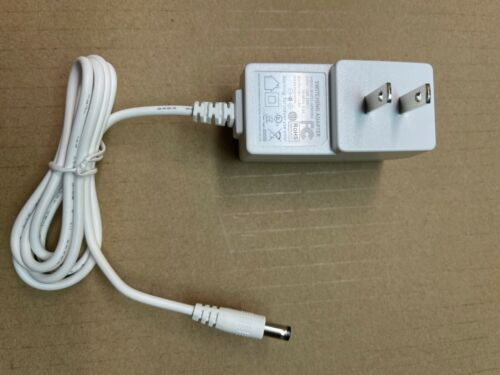 White 9V 1A Power Supply Switching Adapter Charger AC DC 5.5mm x 2.1~2.5mm