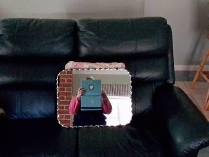 Retro Bevilled Edge Mirror