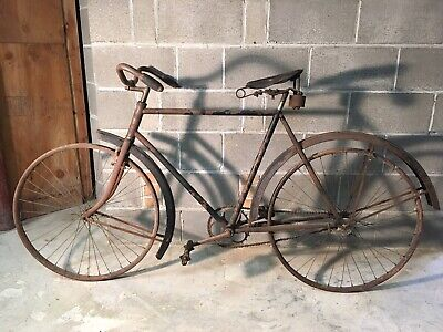 b9c0b3563e1 Rare Original Antique Iver Johnson Co. Lovell-Diamond Men's Bicycle Barn  Find
