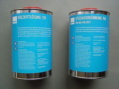 Lösung Holz (GP 21,49 € / Ltr.  BAO Holzkittlösung o. Verdünnung zur Herstellung von Holzkitt)