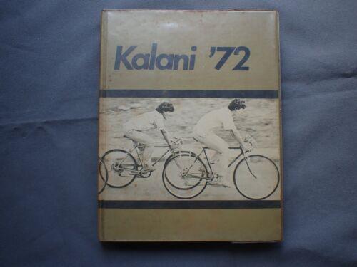 Yearbook Annual Hawaii Kalani High School 1972 72