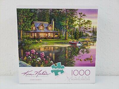 Kim Norlien GOLDEN MOMENTS 1000 Piece Puzzle Pre-Owned COMPLETE