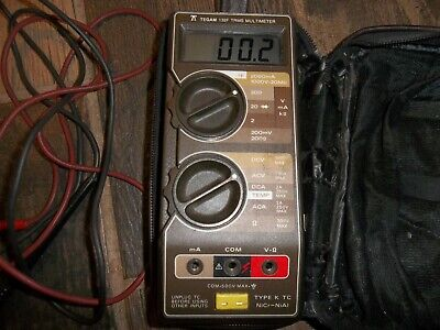 Keithley 132f Trms Multimeter With Leather Case And Leads Ex Condition Tegam