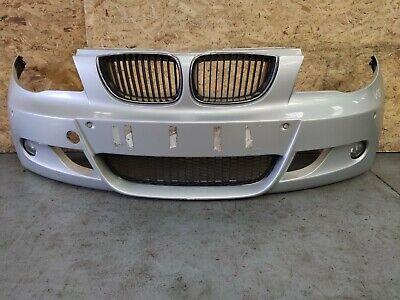 BMW E87 120D LCI M SPORT FRONT BUMPER IN 354 Titan-Silber SILVER