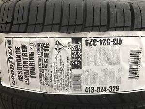 P205/55R16 Goodyear Assurance ComforTred