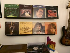 Disque Vinyls records Musique franco