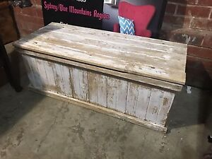 Shabby blanket box Penrith Penrith Area Preview