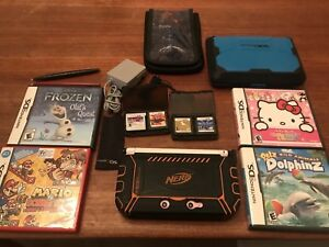 3DS Xl, 8 games and accessories