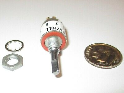 Grayhill Sealed Min. Rotary Switch 12 Od Sp-8 Positions Series 50 Nos