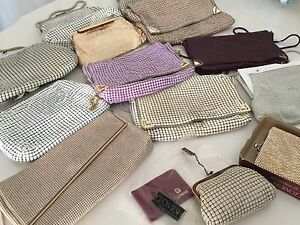 Collection of ladies vintage glomesh handbags and wallets St Marys Penrith Area Preview