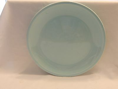 "SHENANDOAH PASTELS Light Blue Large Round Serving Platter-12 3/4""-EUC!"
