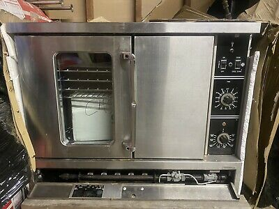 Used Commercial Gas Convection Oven Nsf Restaurant Kitchen