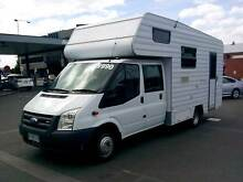 2-5 Berth Twin Cab Motorhome With Shower And Toilet Hobart CBD Hobart City Preview
