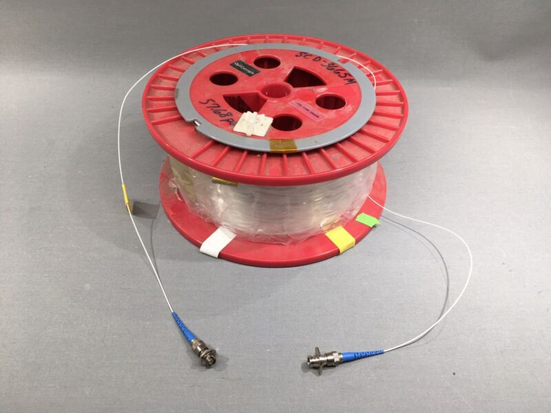OptiConcepts 3.6km 3,665m SFS SM Single Mode Optical Fiber Spool