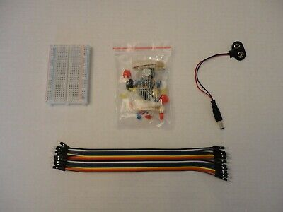 Basic Components Starter Pack Breadboard Jumper 9v Cable Wire For Arduino Uno R3