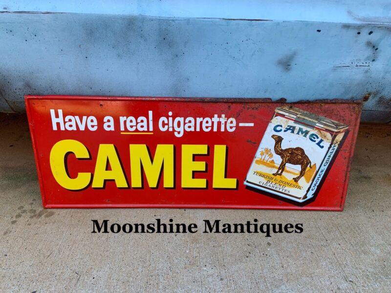 Vintage CAMEL CIGARETTES Advertising Sign