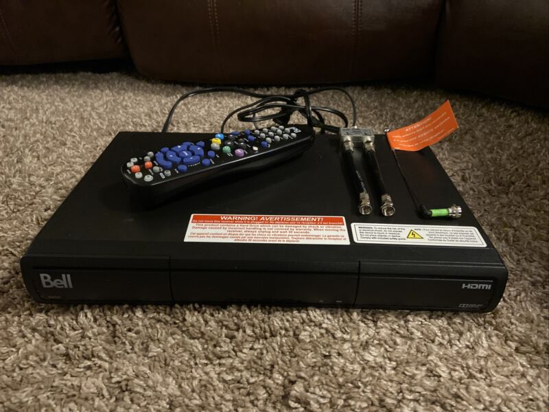 Bell 9400 HD PVR Satellite Receiver with remote