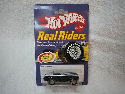 1998 Hot Wheels 30th Anniversary 1983 Blue Shelby Cobra Real Riders
