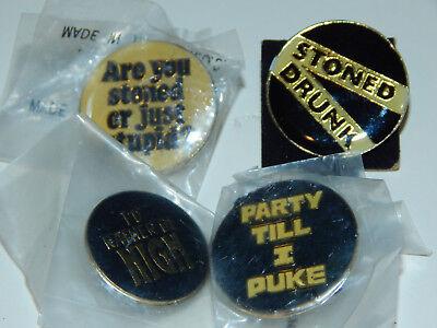 1980's Party Theme Enamel Pins Lot