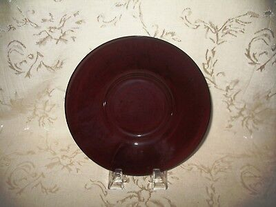 Absolutely Gorgeous 1800's Antique Amethyst Luncheon / Salad Plate