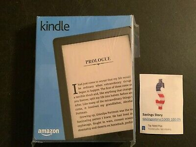 Amazon Kindle (8th Generation), Wi-Fi, 6in - Black Ebook Reader Tablet
