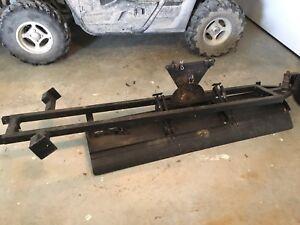 Argo 6x6 plow