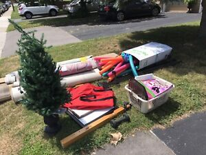 Free Stuff Curbside right now.