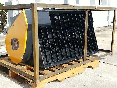 New Wolverine Hydraulic Skid Steer Concrete Mixer Skidsteer Attachment 0.5 Cf