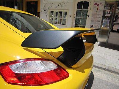 - Fiber glass GT Rear Spoiler Wing fit for Porsche 2006-2011 Cayman S 987 techart