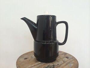 Vintage Japanese Coffee Pot Ceramic Tea Kitchen Dutton Park Brisbane South West Preview
