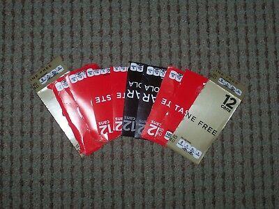 Lot 100 Mcr My Coke Rewards Points Unused   Coca Cola Cases Caps   Will E Mail