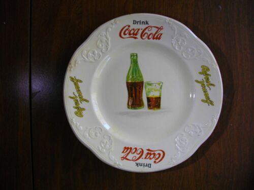 "1931 Coca Cola Advertising Sandwich Plate Rare A+ Condition 7.5"" Dia. Antique"