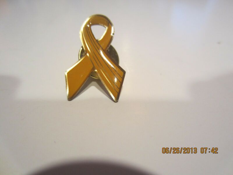 LOT OF 5 YELLOW RIBBON LAPEL PINS-FOR THOSE WHO SERVE