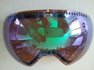 Spy Platoon Replacement Snow Goggle Lens Bronze w Green (Spy Replacement Lenses)