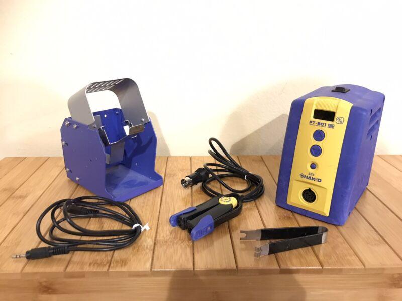 Hakko Ft-801 Hotweezers Heated Tweezers Hot Leads For Wire Reworking Stripping