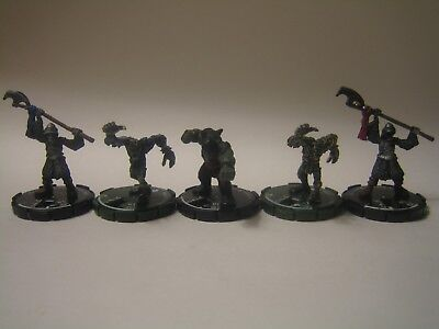 Zombies and Skeletons Mage Knight Miniature Lot