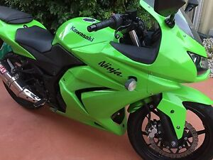Kawasaki ninja 2008 green Beverly Hills Hurstville Area Preview