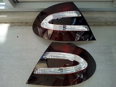 Schwarze Rückleuchten Lasierung Lasur Lasieren Ihrer Mercedes CLK W209 Lichter